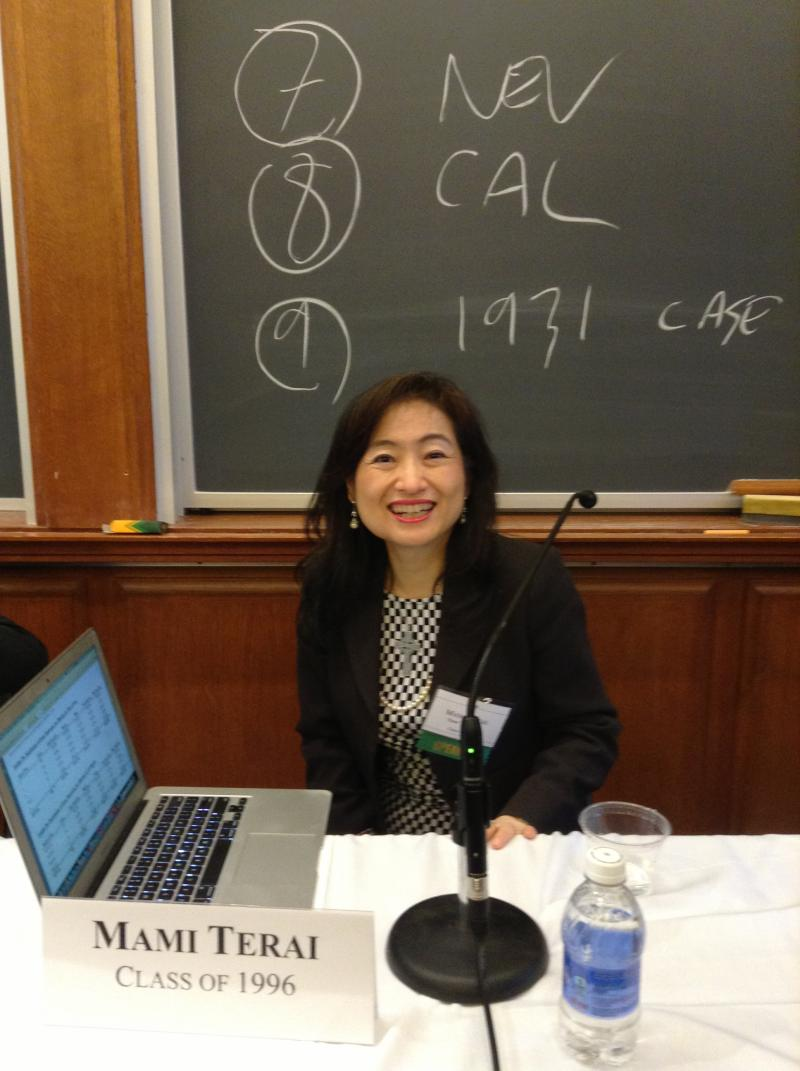 At Celebration 60 conference, Harvard Law School (September, 2013)